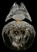 """LALIQUE Perfume Bottle (full) 2003 Limited Edition """"Butterfly"""" LARGE SIZE NIB"""
