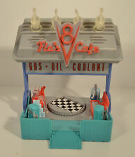 "6.5"" Flo's V8 Cafe Store Front Fold-Up Mini Adventures Playset Disney Pixar Cars"