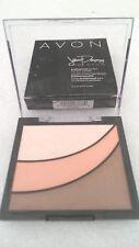 2 AVON Jillian Dempsey Professional Cheek Contour Powder - Blissful Divine Blush