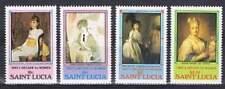 St. Lucia postfris 1981 MNH 568-571 - Decade to Women (P337)