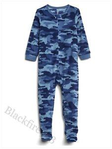 NEW Gap Kids Boys Fleece Onesey All In One Pyjamas Loungewear GIFT 2 & 3 Years