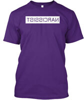 Narcissist Mirrored - Tsissicran Hanes Tagless Tee T-Shirt