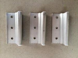 Mobile Home Parts 3 New Storm Door Hinges Aluminum