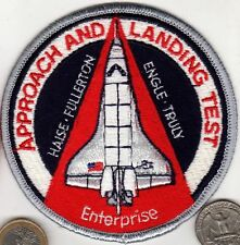 US NASA Space ENTERPRISE Patch Shuttle Flight Astronaut APPROACH & LANDING TEST