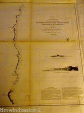 U.S. COAST SURVEY WEST COAST MONTEREY TO THE COLOMBIA RIVER SHEET 2  PUB. 1851