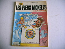 LES PIEDS NICKELES n° 65 SE BLANCHISSENT 1971