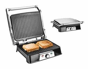 Kontaktgrill 2000W Tischgrill Grill Elektrogrill Barbecue-Grill