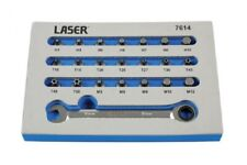 Laser Tools 7614 Low Profile Bit Set with Driver in Foam Storage Tray 22pc