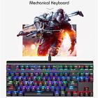 MOTOSPEED CK101 NKRO Gaming Mechanical Keyboard Gaming with RGB Backlight