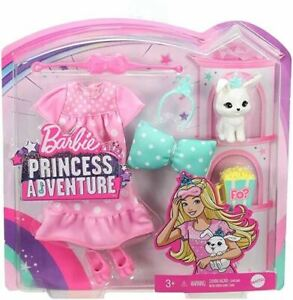 Barbie Princess Adventure FASHION PACK Pet Bunny Nightgown Slumber Party