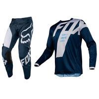 FOX RACING 180 MOTOCROSS MX KIT PANTS JERSEY - MASTAR NAVY