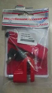 HONDA CBR600 CB750 CB900 ST1100 ST1300 DISK BRAKE LOCK Genuine Honda Accessories