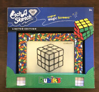 Etch A Sketch LIMITED RUBIK'S CUBE 60TH ANNIVERSARY EDITION NEW RARE TOY GAME