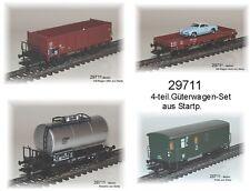 from Märklin 29711 freight wagon 4-teilig DB with Car Model # NEW#