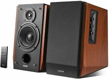 Bluetooth Bookshelf Speakers Active Near Field Studio Monitors 66w RMS 2.0 Setup