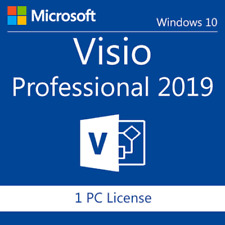 Genuine Visio Professional 2019 License Key With Download Link