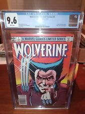 WOLVERINE 1 CGC 9.6 WP (9/82) 1st solo book (not X-Men 133) rare newsstand copy