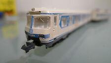 Arnold 2940 ET 420 weiß/blau mit Doornkaat -Werbung 3 tlg. Olympia-Triebzug