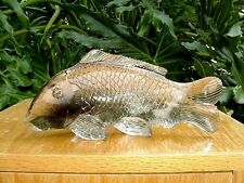 Quartz Crystal Carved Fish - Beauitful, Collector Piece -NEW PRICE