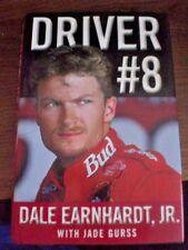 Dale Earnhardt Jr Driver #8 Signed 1st Printing book Autographed!!!! Jade Gurss