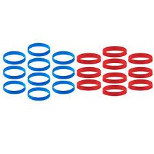 Braccialetti in gomma di silicone da 20 pezzi - Braccialetto personalizzato