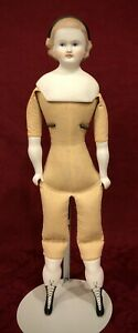 """20"""" Antique Reproduction Parian Doll Lillian Smith - Emma Clear"""