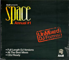 SPACE ANNUAL # 1 - Full length DJ Versions.   New Sealed 2CD