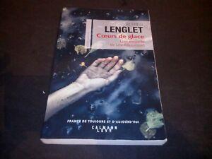 Cœurs de glace: Une enquête de Léa Ribaucourt - Alfred Lenglet (dédicacé)