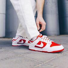 New Deadstock Men's Nike Dunk Low University Red White 8 UK 9 US in Hand DSWT #2