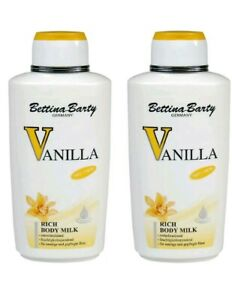 Bettina BARTY VANILLA RICH BODY MILK 500ml X 2