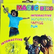 Magic Flow Rings Stainless Steel Rings Toys Original Kinetic Spring Toroflux Toy