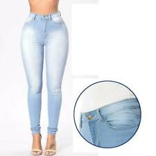 Casual Pencil Pant Denim Pants Fashion Washed Plus Size Stretch Skinny Jeans T