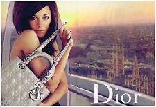 Publicité Advertising 2010 (2 pages) Le sac à main Dior avec Marion Cotillard