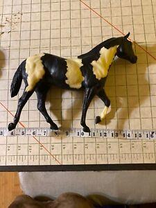 BREYER Black White Horse with black mane/tail