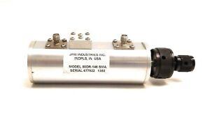 JFW 50DR-146 Variable Dual Rotary Step Attenuator SMA 3GHz 50db 2W 1dB SMA RF