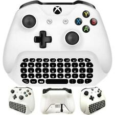 For Xbox One S Chatpad Mini Gaming Keyboard Wireless Chat Message KeyPad wi E1Y8
