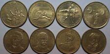 Pièces de monnaie d'Europe du Sud en bronze