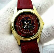 """KISS,""""Rock & Roll Over Dial"""",Rare!  KIDS/ MENS CHARACTER WATCH,1909,L@@K!"""