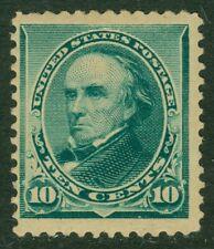 EDW1949SELL : USA 1890 Scott #226 Very Fresh. Mint with full OG LH. Catalog