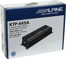 ALPINE KTP-445A 360W 4 CHANNEL CLASS D CAR AUDIO STEREO AMPLIFIER AMP