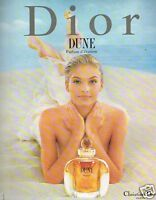 Publicité advertising 1997 Parfum  Dune par Christian Dior