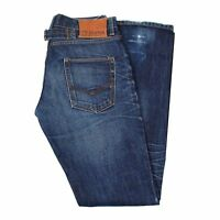 25259 Scotch&soda Mercer Straight Fit Blau Herren Jeans Größe 32/36