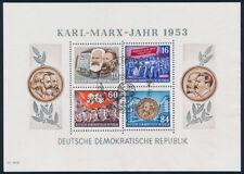 DDR 1953, Block 9 A YI, Sonderstempel, gepr. Paul, Mi. 150,-