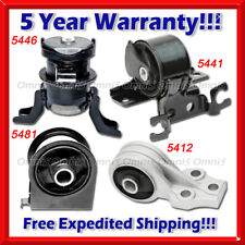 L032 Fit 2005-2012 Ford Escape 3.0L Engine Motor & Trans Mount Set 4 PCS