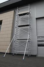 "ASC Aluminium-Rollgerüst ""Basic-Line"" PREMIUM bis 8,30 Meter, Gerüst NEU"