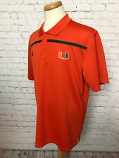 MIAMI HURRICANES ADIDAS CLIMALITE Men's XL Shirt