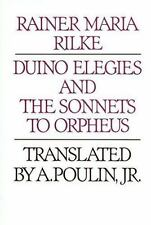 Duino Elegies and the Sonnets to Orpheus, Rilke, Rainer Maria, 0395250587, Book,