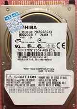Toshiba MK8032GAX 80 GB 5400 RPM IDE PATA 2,5 Zoll HDD For Laptop Festplatte