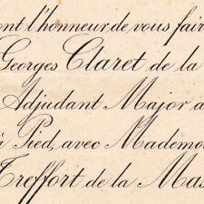 Georges Prosper Anne Claret De La Touche Rennes 1886