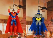 DC Superman Batman Dark Knight Ceiling Fan Pull Light Lamp Chain Decoration 1320